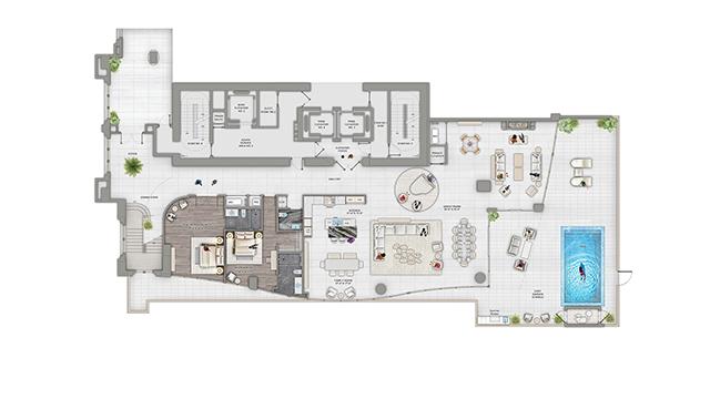 Residencies Floorplans