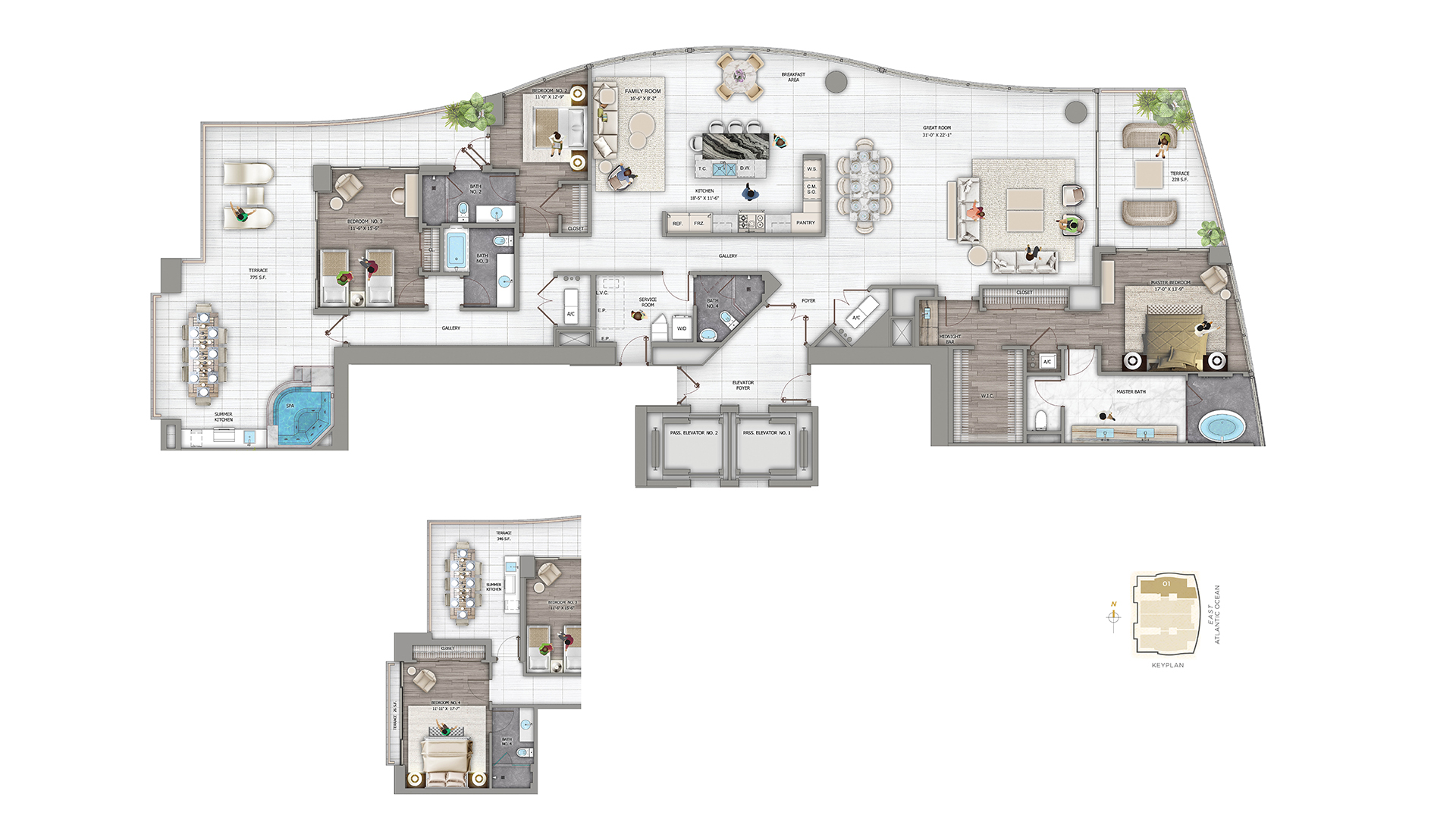 Photo Panorama Towers Floor Plans Images