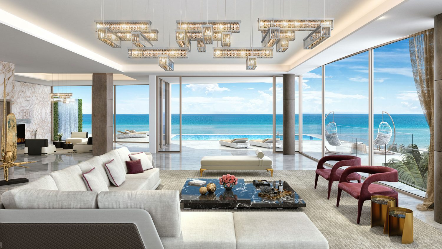 D Living the estates at acqualina gallery luxury estate amenities